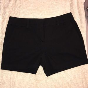 Loft black shorts, 4 inch inseam, size 4.